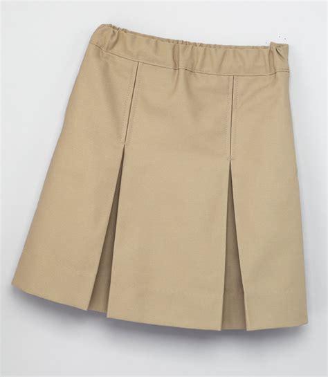 2660 kick pleat skirt
