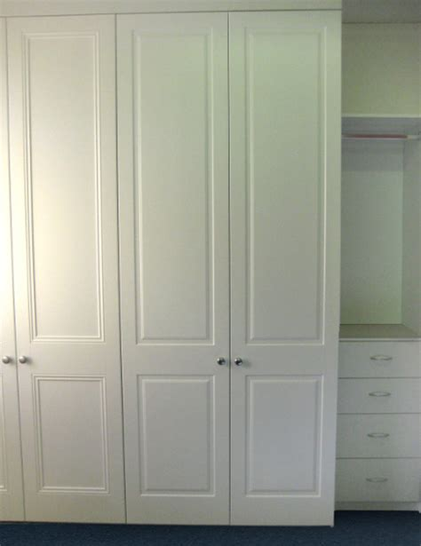 painted timber wardrobe doors