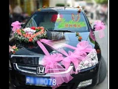 cer makeover ideas diy wedding car decorating ideas youtube