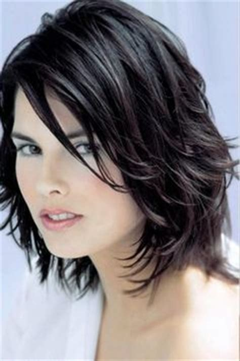 medium length piecy hair 1000 images about shag hairstyles on pinterest short