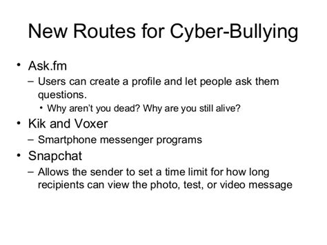 askfm bullying bullying 101