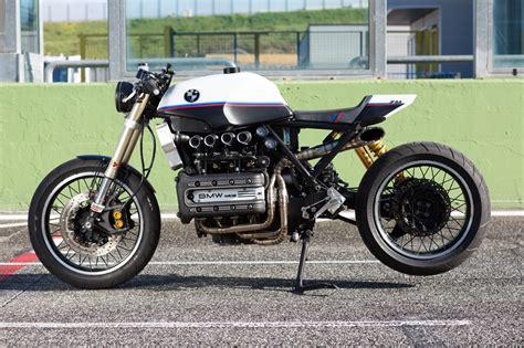 Bmw Cafe by Bmw K1100 Cafe Racer By De Angelis Elaborazioni Bikebound