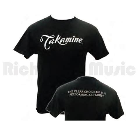 Takamine T Shirt takamine logo t shirt black m rich tone