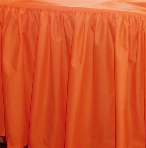 long bed skirt orange bed skirt 28 images tailored bed skirt in burnt orange by lamchopdesigns on