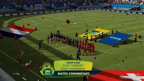 Brazil Vs Switzerland 2014 Fifa World Cup Brazil Switzerland Vs