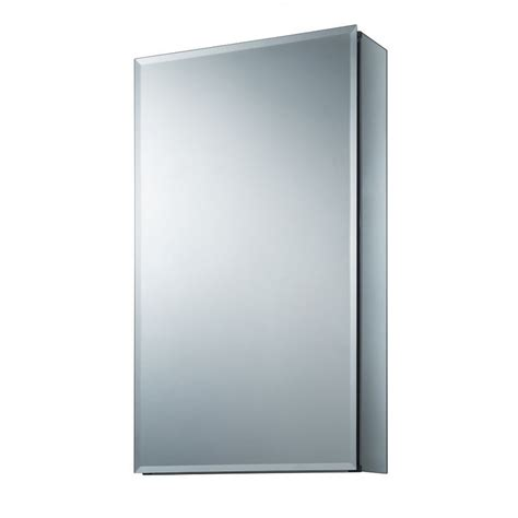 allen roth medicine cabinet allen roth 15 in x 26 in rectangle surface recessed