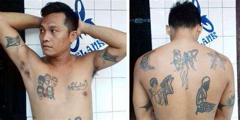 rajang tubuh  tato slank sejak smp  alasan pria