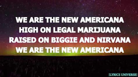 halsey new americana official lyrics halsey new americana lyrics youtube