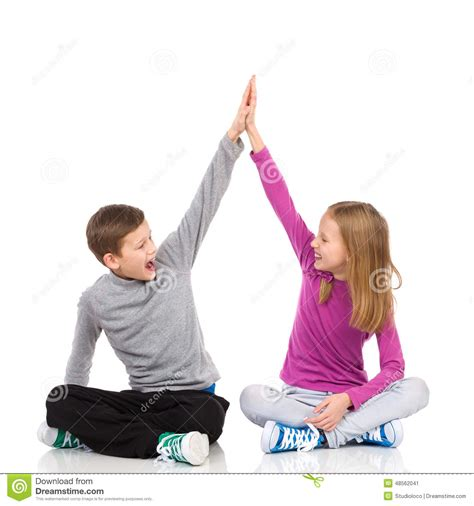 high five floor l high five stock photo image 48562041