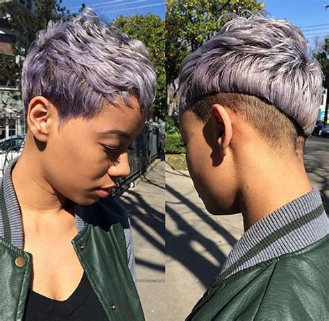 growing out a pixie haircut for african american hair 20 sassy and sexy black pixie cuts