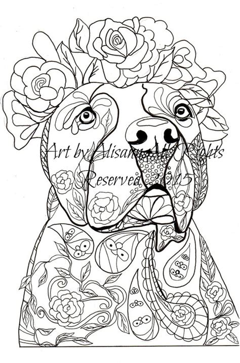 coloring pages of dogs for adults labradors labrador retriever and applique designs on