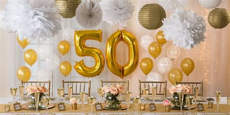 Wedding Anniversary Table Decorations by Golden 50th Wedding Anniversary Supplies 50th