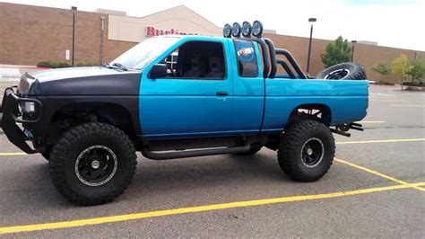 nissan pickup 4x4 lifted nissan pickup 1997 lifted image 54
