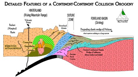 cross section geology definition arc related basins learning geology