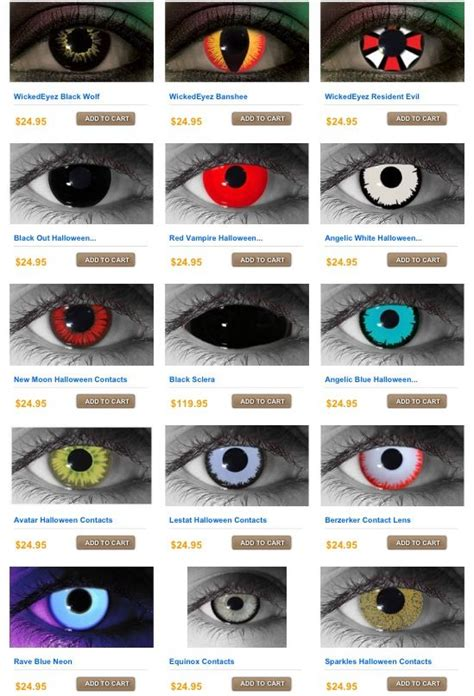 creepy colored contacts 25 best ideas about contacts on