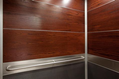 Lower Wall Wood Paneling Levele 104 Elevator Interior With Panels In Custom