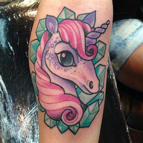 cartoon unicorn tattoo unicorn tattoo unicorns and little poney tattoos ideas