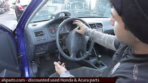 how to replace 2000 acura integra rear wiper motor how to change replace install column head light wiper