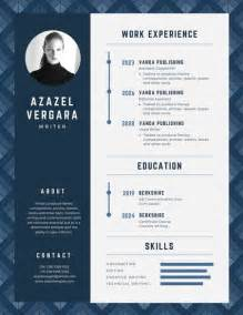 modern resume template for word and pages modern cv design