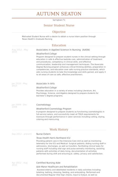 Resume Objective For Extern Extern Resume Sles Visualcv Resume Sles Database