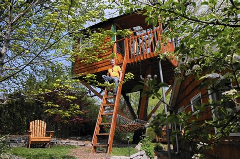 The Treehouse Schaumburg - prompted by luxury treehouse schaumburg imposes tax on airbnb rentals chicago tribune