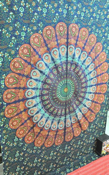 psychedelic trippy tapestry cheap dorm wall hanging twin
