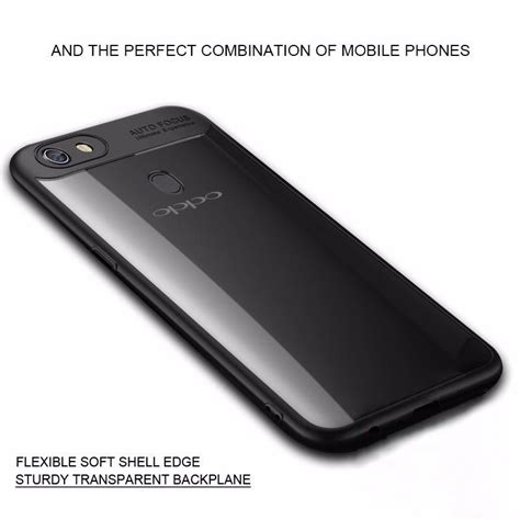 Oppo F5 Ipaky Soft Silicone Bumper Back Cover Casing Transparant vaku 174 oppo f5 kowloon series top quality soft silicone 4 frames plus ultra thin