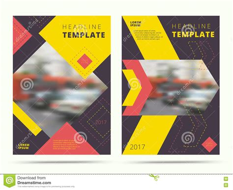 contemporary flyer design set of contemporary annual report abstract cover design