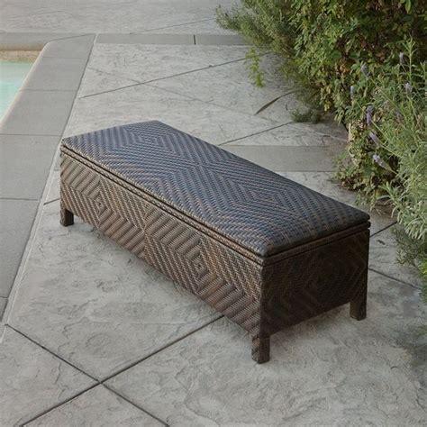 wicker storage ottoman wicker ottomans easy home concepts