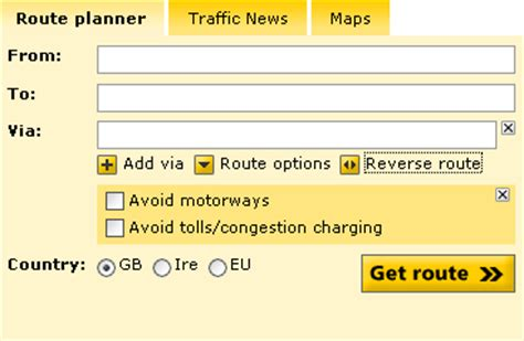 aa route map uk image gallery http aa route planner