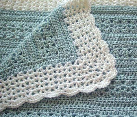 crochet pattern x crochet borders for baby blankets crochet baby blankets