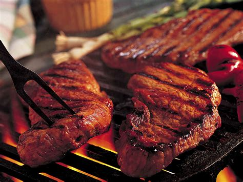 basic grilled steak tailgate grilling