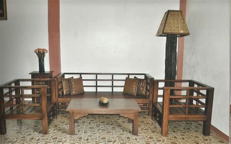 Livingroom In Spanish salvaged old wood japanese style sala set by toykalapawmi