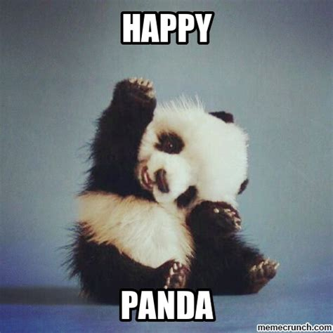 Be Happy Meme - happy panda dance