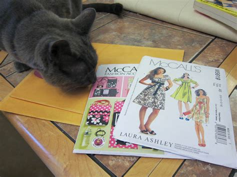 pattern envelope storage confused kitty creations using manila envelopes for