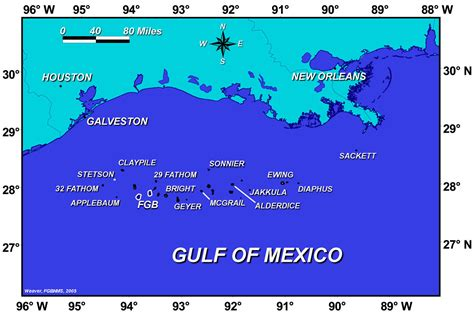 gulf of texas map flower garden banks national marine sanctuary 2009 condition report