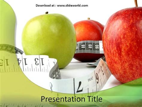 Healthy Food Powerpoint Template healthy diet powerpoint ppt templates ppt template for