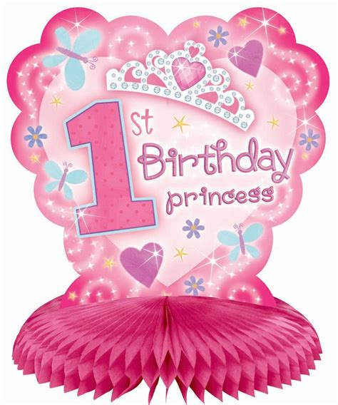 1st Year Happy Birthday Wishes 1st Birthday Princess Decorations Cheap 1st Birthday