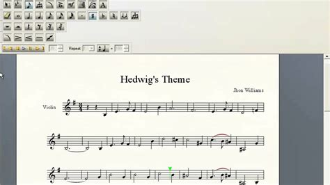 hedwig s theme violin sheet music youtube