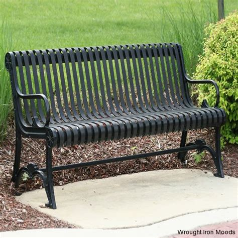 wrought iron bench wrought iron garden benches