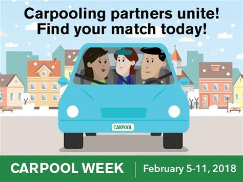 11th february week february 5 11 is carpooling week