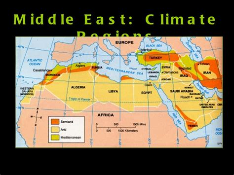 middle east vegetation map middle east geography