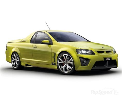 2008 hsv maloo r8 ute picture 205001 car review top