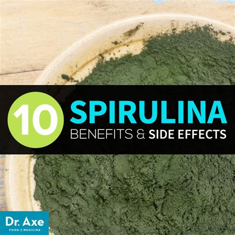 Any Side Effects To Dr Axe Lemon Salt Detox by 17 Best Images About Spirulina Health Nutritional