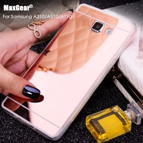Casing Cover Samsung A3 2016 A Soft Jelly aliexpress buy luxury pc soft silicone tpu mirror