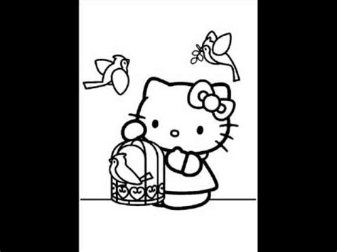 coloring pages online youtube hello kitty free coloring pages youtube