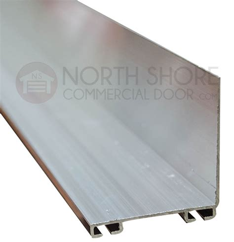 garage door two inch by two inch aluminum bottom seal