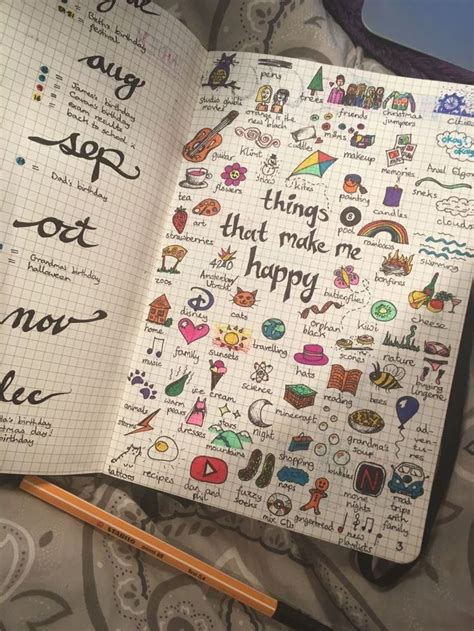 Drawing Journal Ideas by Bullet Journal Doodles Drawing Inspiration Journal