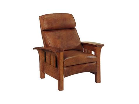 stickley recliners stickley furniture 89 406 rl bustle back bow arm morris