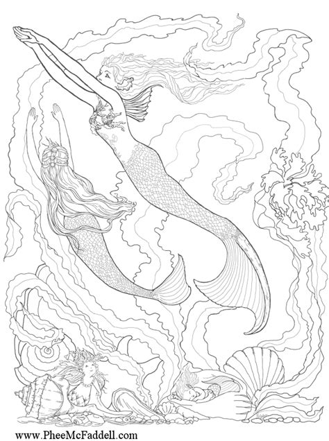 coloring pages fantasy coloring home